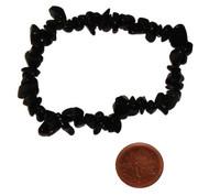 Chipstone Bracelets - Black Obsidian