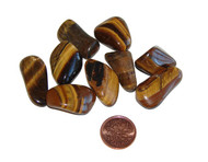 small tumbled gold tigers eye