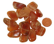 Red Onyx Tumbled Stone - extra small