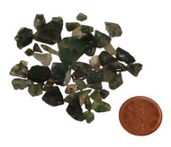 Tumbled Green Moss Agate Chips - 5 grams