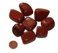 Tumbled Goldstone Stones - XXL