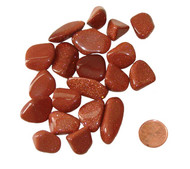 Tumbled Red Goldstone - extra small
