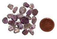 Loose Amethyst Stones - 10 grams