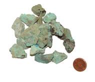 Raw Chrysocolla Stones - extra small