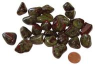 Tumbled Dragon Blood Jasper Stones - size small