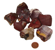 Mookaite Rough Stones - Extra Large