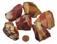 Mookaite Raw Stones - Huge