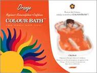Orange Color Bath - envelope