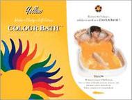 Yellow Chakra Color Bath envelope