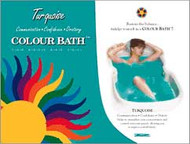 Turquoise Chakra Color Bath envelope