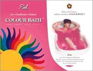 Pink Color Bath - envelope