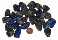 Lapis Lazuli Tumbled Stones - size small