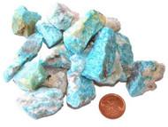 Raw Amazonite Stones - Medium