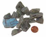 Raw Labradorite Stones - Small