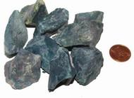 Raw Bloodstone stones - size medium