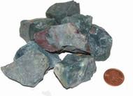Rough Bloodstone stones - size large
