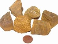 Yellow Jasper Raw Stones - medium