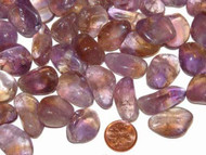 Ametrine Tumbled Stones - small