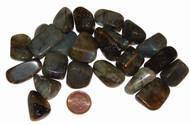 Labradorite tumbled stones - size small
