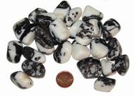 Tumbled Zebra Agate Stones - size small