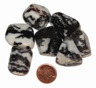 Zebra Jasper Tumbled Stones - size large