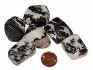 Tumbled Zebra Jasper Stones - size extra large