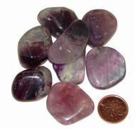 Tumbled Purple Fluorite - medium