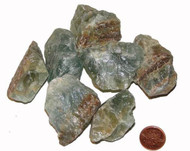 Blue Onyx raw stones - extra large