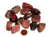 Tumbled Rhodonite - extra large