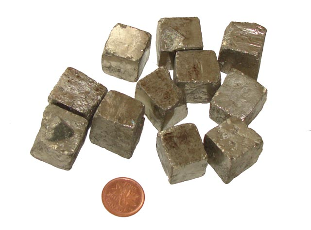 Pyrite stimulates creativity and the flow of ideas - Free info on metaphysical properties and how to use with purchase - Free shipping over $60.