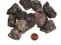 Raw Rhodonite Stone - huge