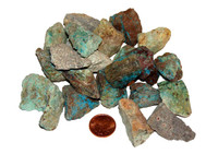 Raw Chrysocolla - Medium