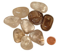 Tumbled Smokey Quartz - Size XXL