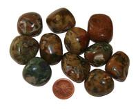 Rhyolite Tumbled Stones - Large