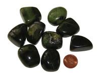 Tumbled Jade Nephrite - extra large