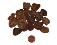 Carnelian rough stones - extra small
