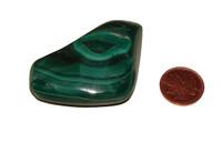 Tumbled Malachite Stones - Specimen B