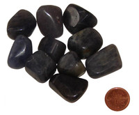 Tumbled Iolite - Medium
