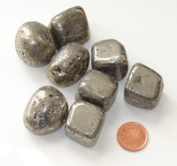 Tumbled Pyrite - XXXL