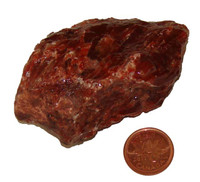Red Calcite - Specimen C - Image 1