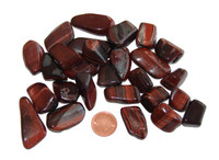 Tigers Eye, Red - tumbled - small