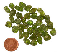 Peridot - .7 to .8 of a gram