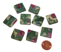 Ruby Fuchsite Worry & Pocket Stones