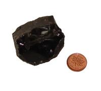 Black Obsidian Crystals - Specimen D