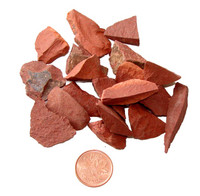 Raw Red Jasper Crystal - teeny