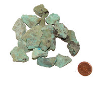 Raw Chrysocolla Stones - extra small