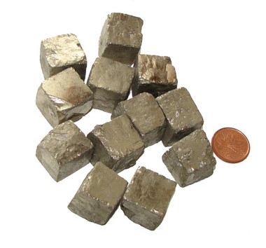 Pyrite Cubic Crystals - XX Large