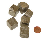 Iron Pyrite Cube - Huge