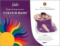 Violet Chakra Color Bath envelope