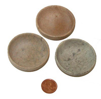 Soapstone dishes for burning resin incense